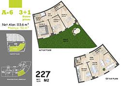 A Blok Daire Planı - A6