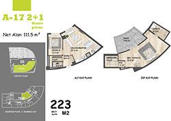 A Blok Daire Planı - A17